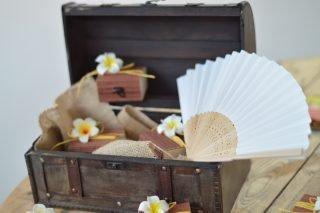 coffre en bois urne de mariage