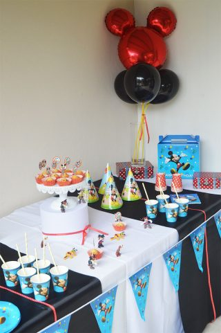 Decoration Mickey Anniversaire on