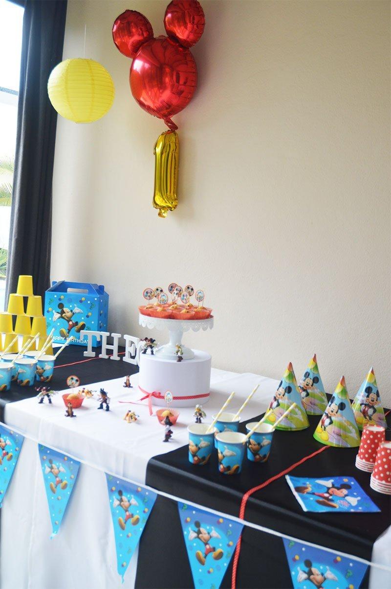 deco-anniversaire-mickey - blog tendance boutik, décoration de