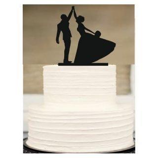 déco de gâteau pour mariage danse