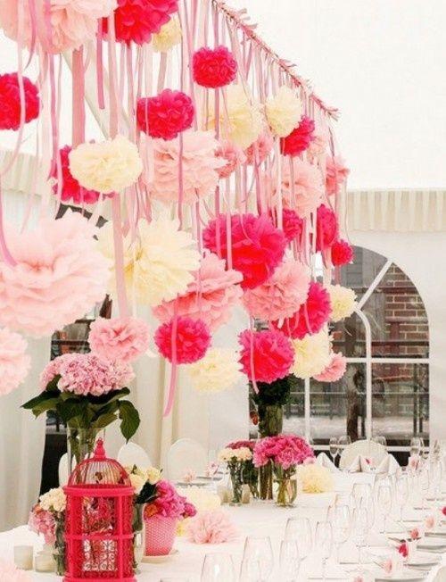 choisissez d'embellier votre décoration avec des boules de fleurs
