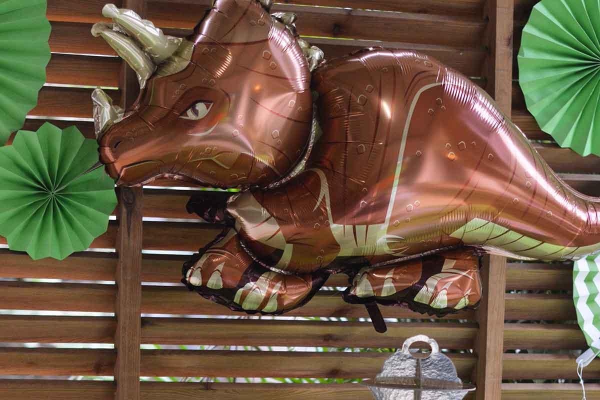 decoration anniversaire dinosaure
