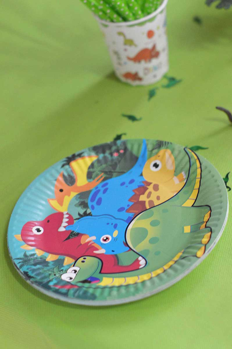 decoration theme dinosaure
