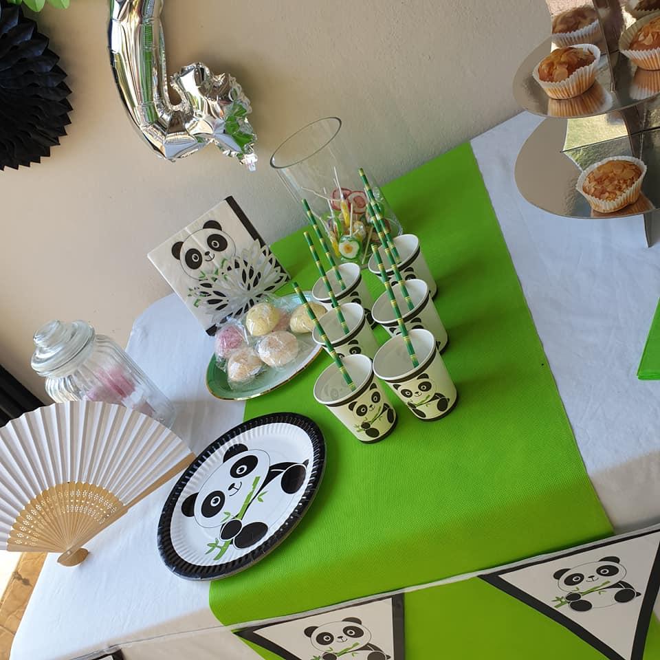 decoration anniversaire panda