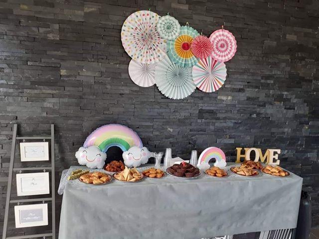 decoration anniversaire arc en ciel