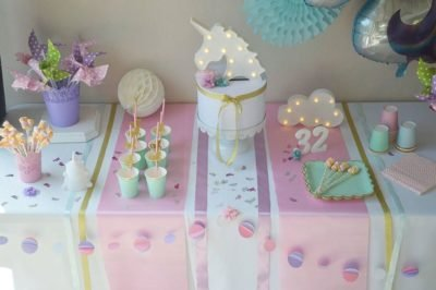 kit anniversaire licorne