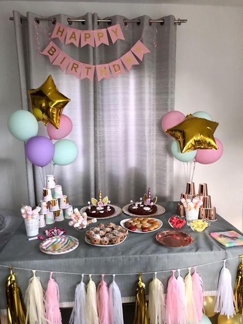 decoration anniversaire pastel