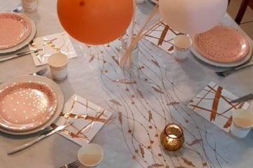 Comment décorer une table d anniversaire pour adulte