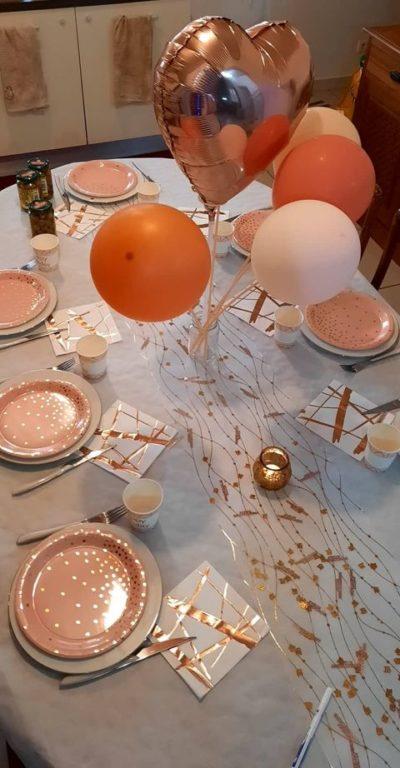comment decorer table anniversaire enfant