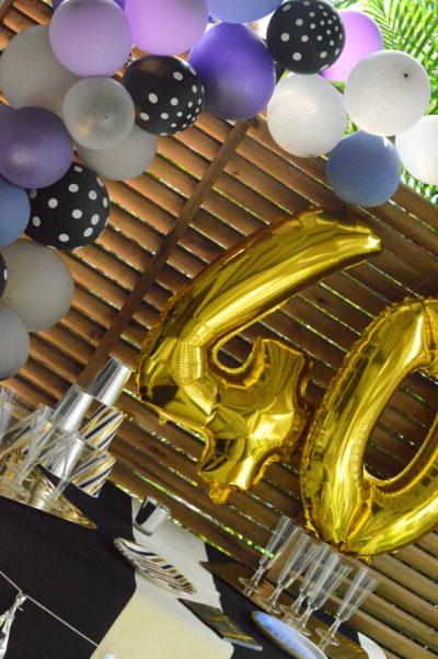 decoration anniversaire homme