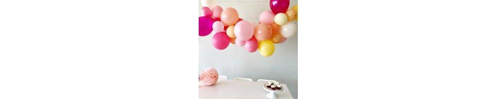 Ballons baudruche couleur