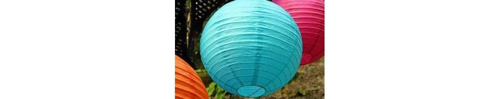Boule lampion papier 30cm