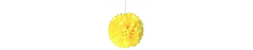 Pompon fleur papier 20cm