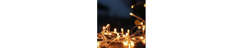 Guirlande et décoration lumineuse led a pile