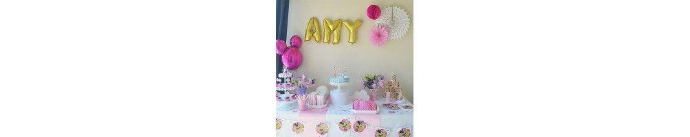 Décoration anniversaire thème Minnie