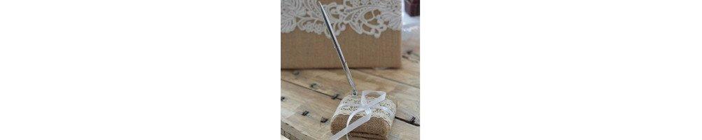Porte stylo mariage