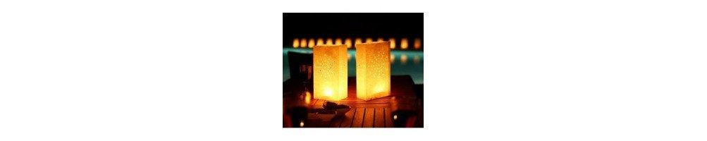 Sac lanterne papier mariage