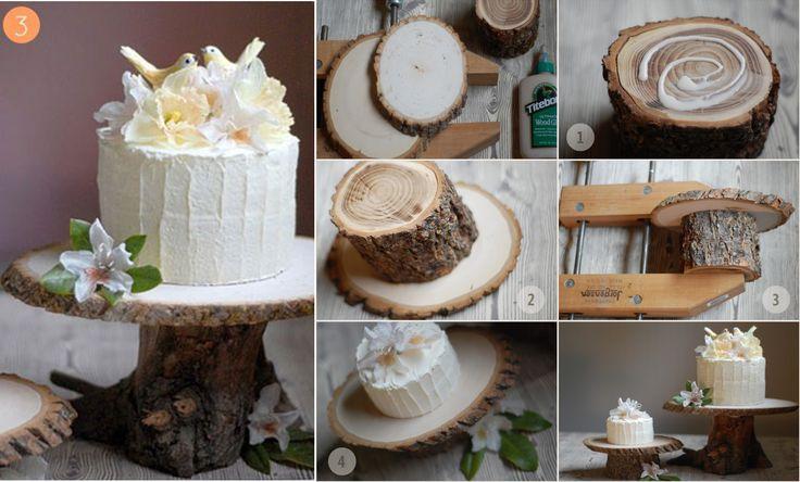 Mariage blog accessoire gateau mariage - Deco table bois ...