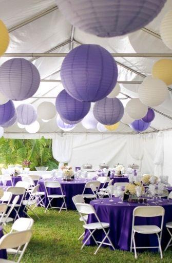 Idees Deco Mariage Violet Et Parme