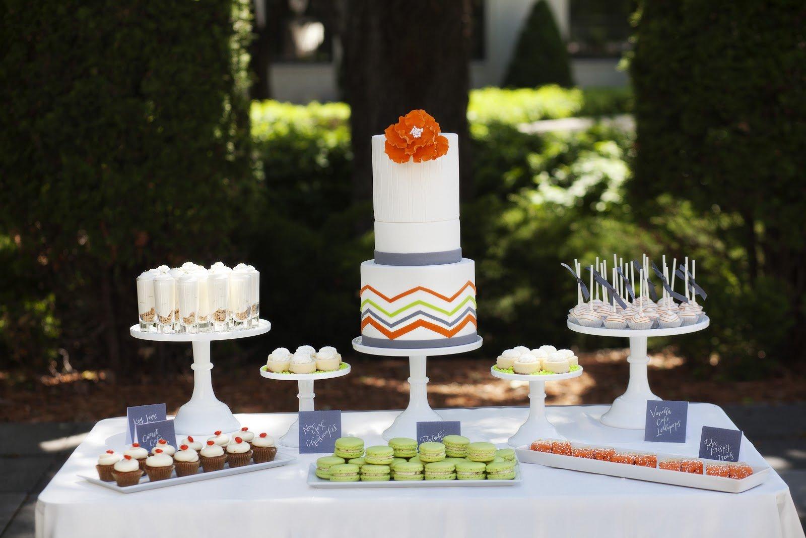 dessert mariage original  tendance boutik
