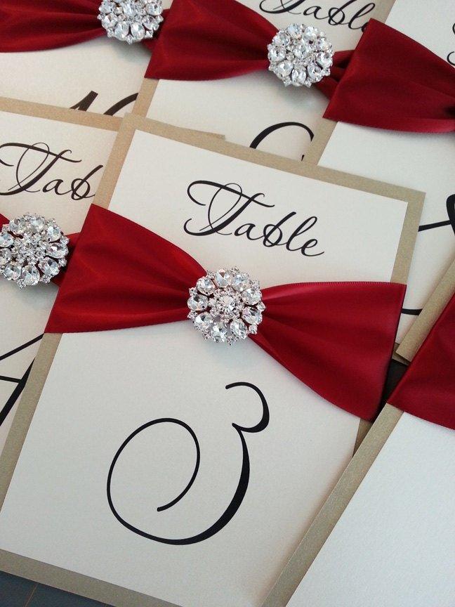 Mariage rouge d coration et accessoires tendance for Decoration et accessoires