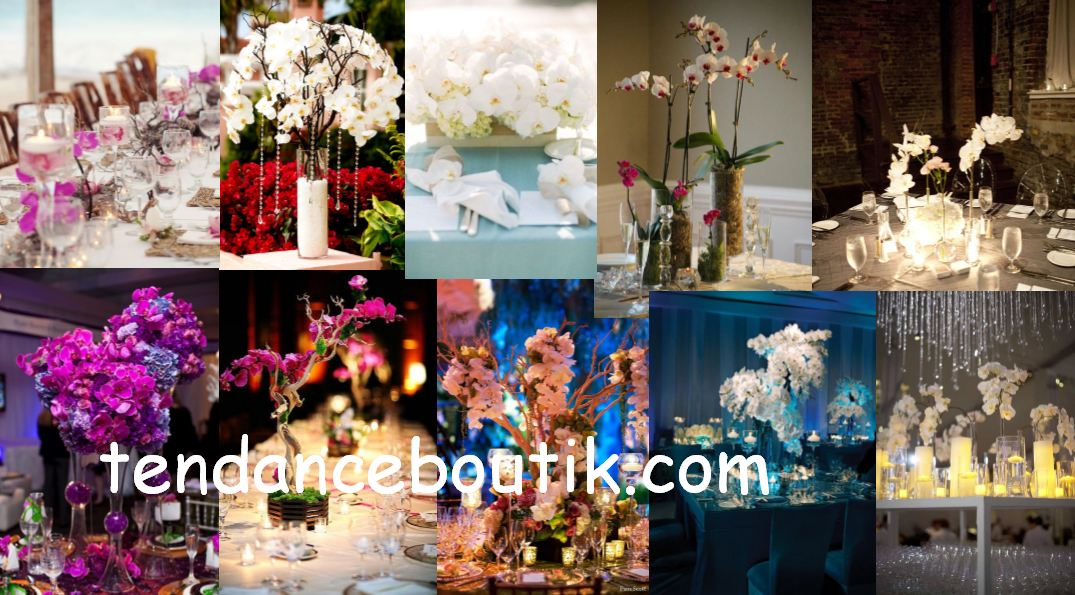 mariage theme orchidee centre de table decoration orchidee tendance boutik. Black Bedroom Furniture Sets. Home Design Ideas