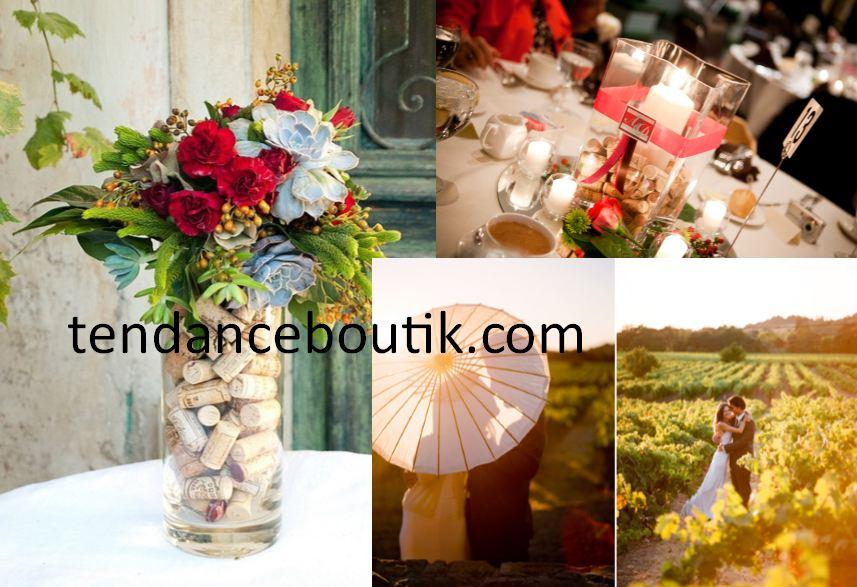 mariage theme vigne ou sur le th me du vin tendance boutik. Black Bedroom Furniture Sets. Home Design Ideas