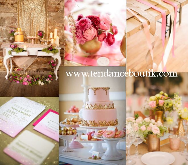 Decoration table de mariage photograph de mariage rose - Decorations de mariage ...