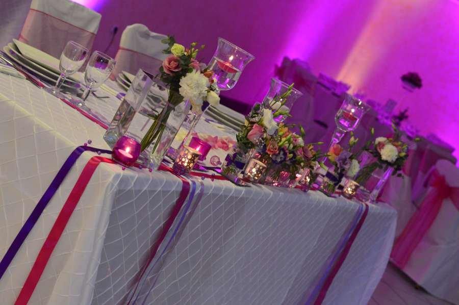 Decoration De Table Menu Rouge : Decoration mariage originale pour un tendance et r� ussi