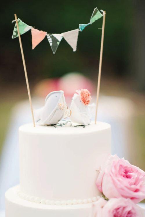 Mariage theme oiseau nature: idee decoration table mariage