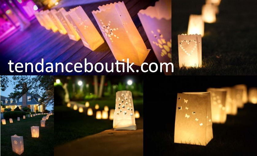 Lanterne Exterieur Papier