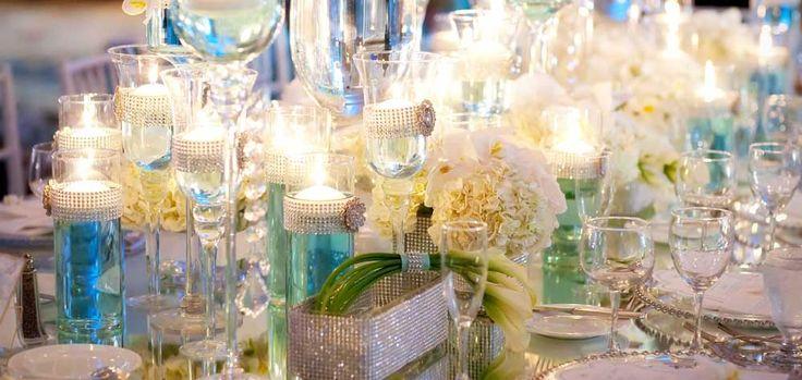 Le ruban strass indispensable pour un mariage chic et glamour.