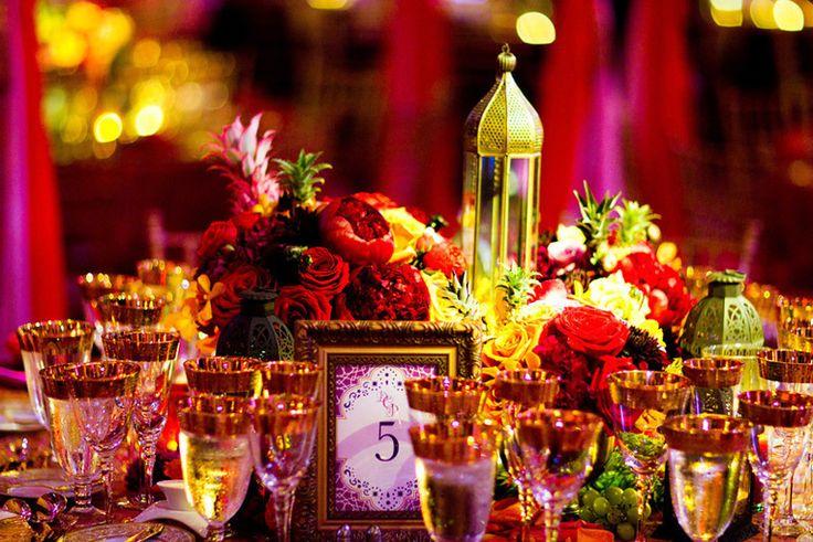 Mariage oriental d coration et ambiance tendance boutik for Table exterieur orientale