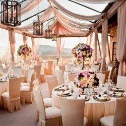 idée de décoration de salle de mariage - tendance boutik